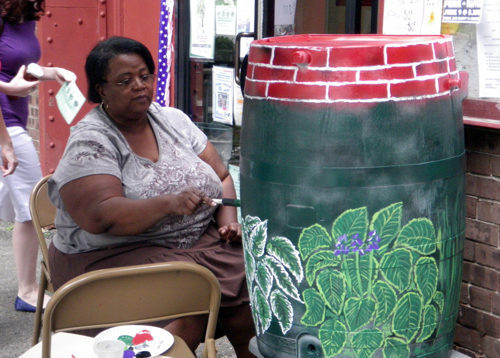Rain Barrel Painting Westcott 1