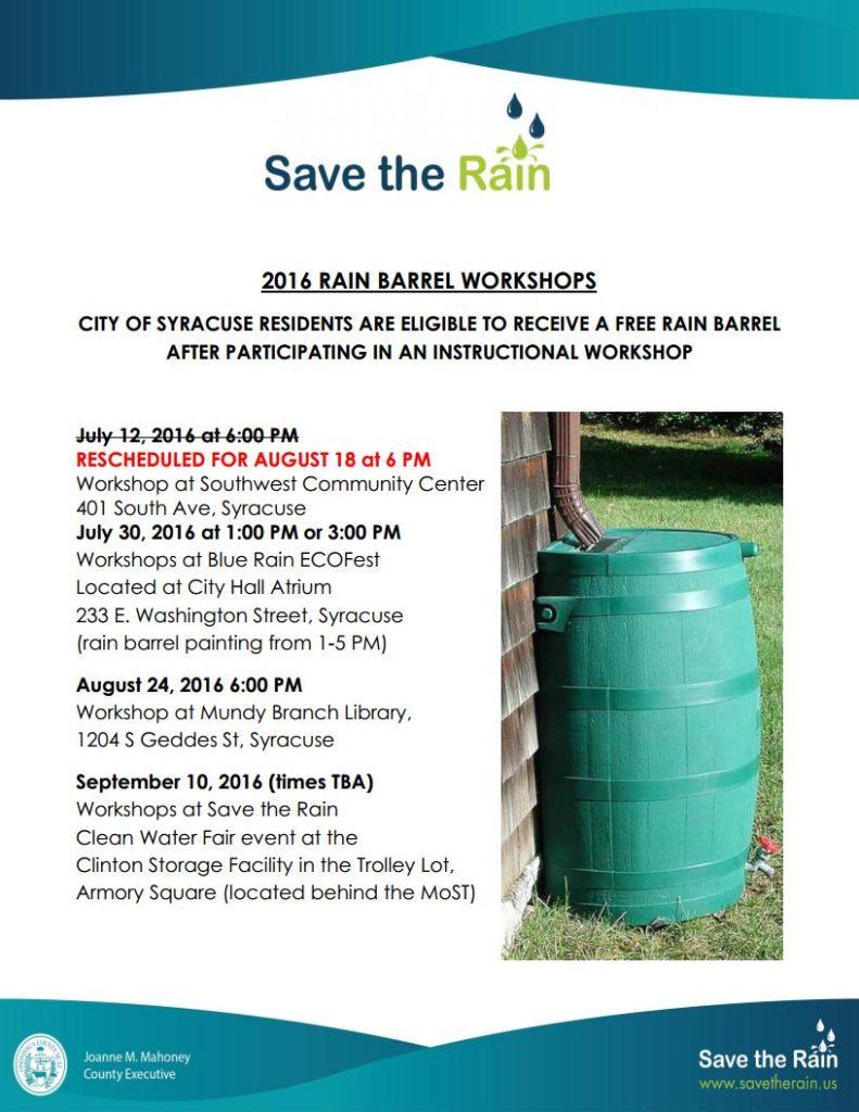 StR Rain Barrel Workshops SUMMER-2016