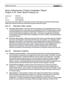 Pearl Street Lot Project Completion Report (PDF)