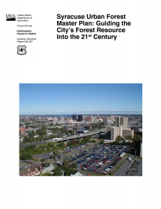 Syracuse's Urban Forestry Master Plan