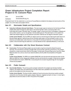 Concord Place Project Completion Report (PDF)