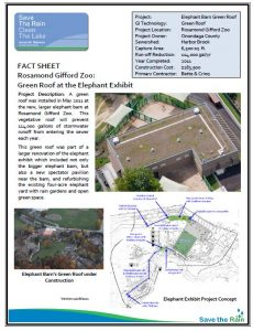 Elephant Green Roof Fact Sheet