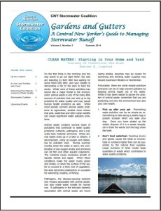 CNY Stormwater News Aug 2014
