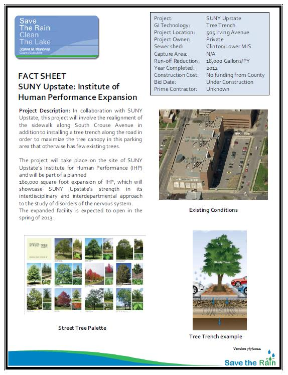 SUNY Upstate IHP Project Overview (PDF)