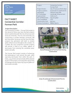Connective Corridor Forman Park Project Overview