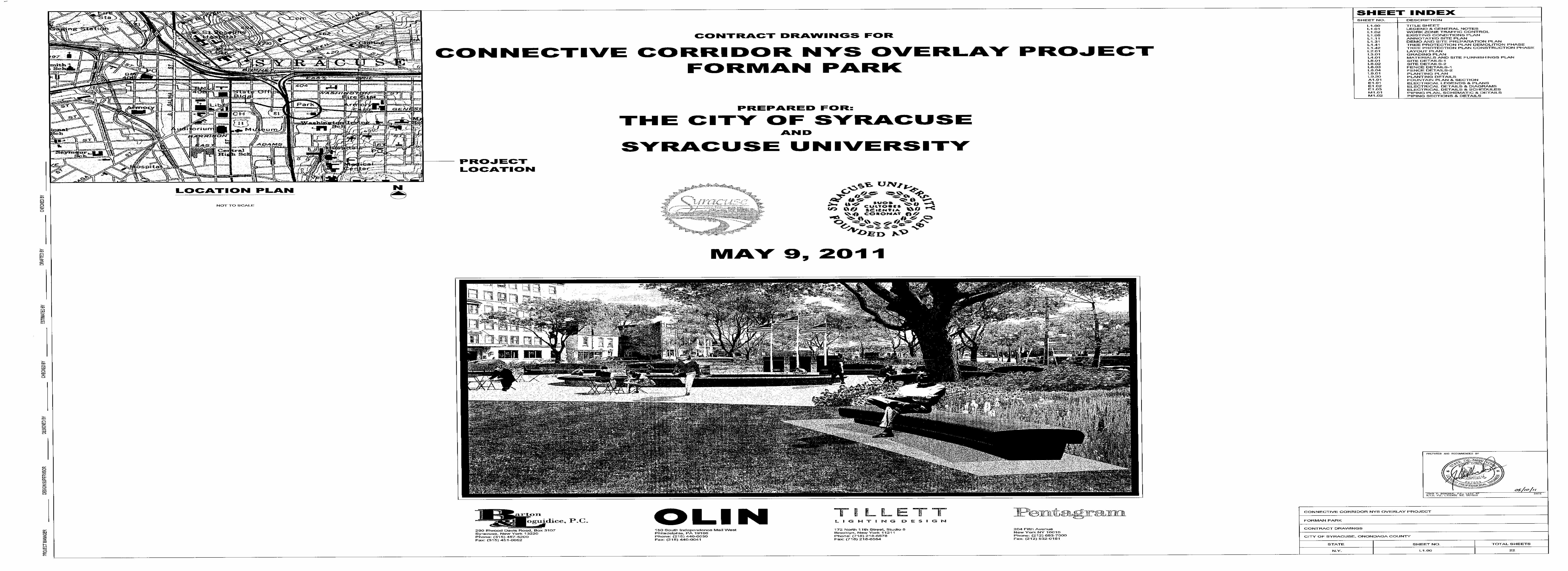 Forman Park Project Plans