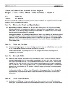 Otisco Street Green Corridor Project Status Report (PDF)