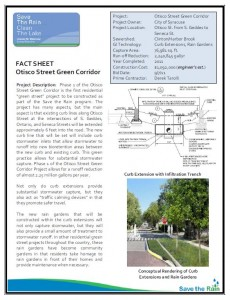 Otistco Street Project Overview