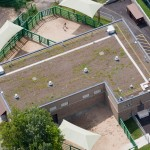 Elephant Exhibit - Green Roof (photo)