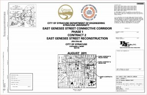 C.C. Phase 1 Contract 2 Project Plans