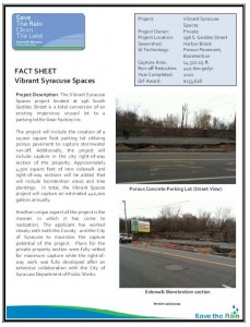 GIF Vibrant Syracuse Spaces Fact Sheet