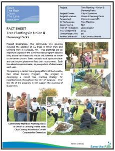 Tree Planting Fact Sheet