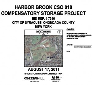 Harbor Brook Wetland Compensatory Storage - Project Plans (PDF)