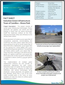 Camillus Shove Park SGIP Fact Sheet