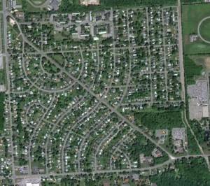Dewitt - Franklin Park - Aerial Image