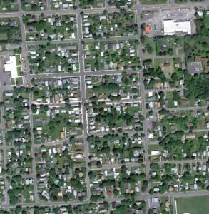 Dewitt - Park Hill, Aerial Image