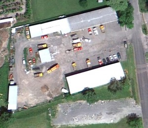 Aerial Image of East Syracuse Project Area - Bagg St DPW Garage