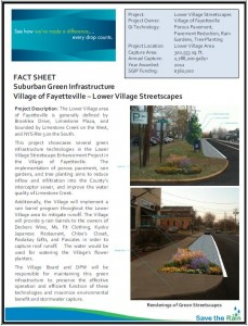 Fayetteville Lower Village SGIP Fact Sheet (PDF)