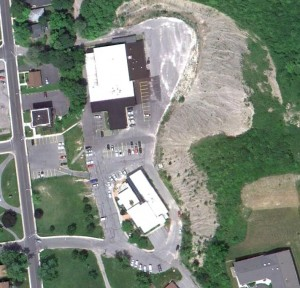 Geddes Town Hall, Aerial Image