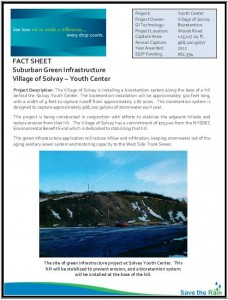 Solvay Youth Center SGIP Fact Sheet (PDF)