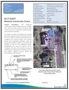 Westcott Community Center Fact Sheet (PDF)