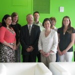 Mayor Miner with realtors