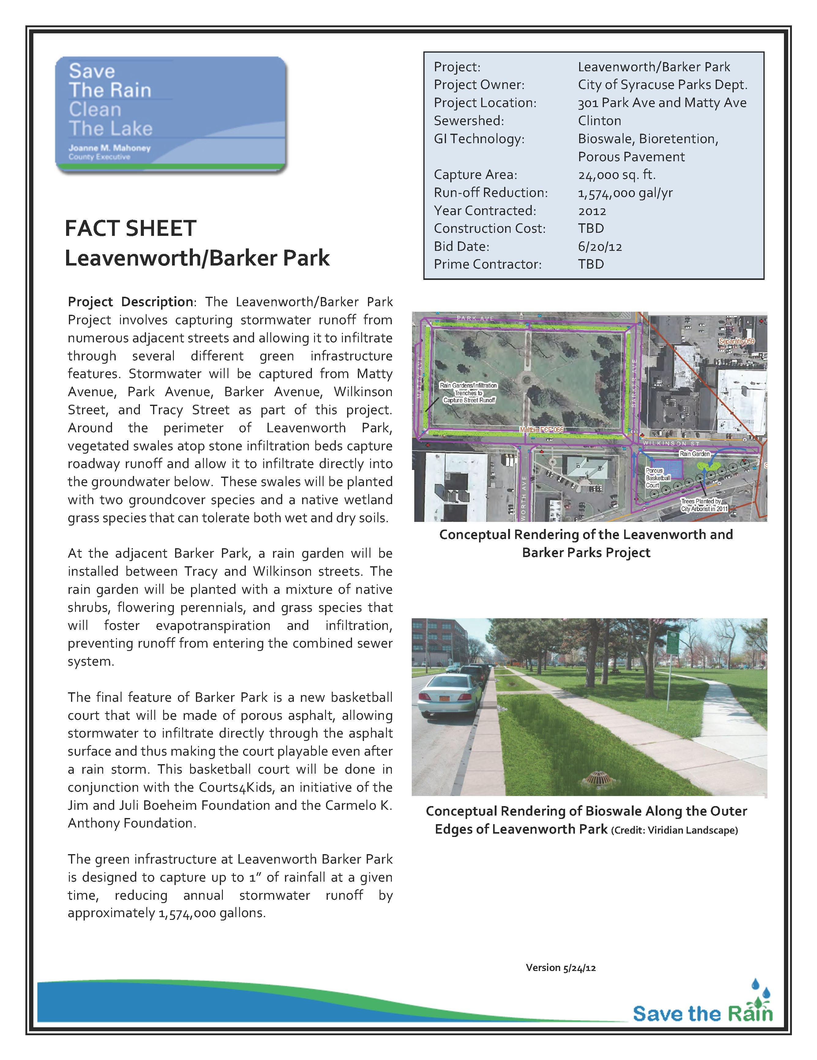 Leavenworth-Barker Fact Sheet (PDF)