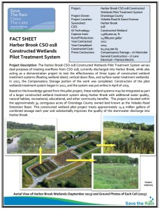 Harbor Brook Wetland Fact Sheet