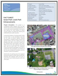 Lewis Park Fact Sheet (PDF)