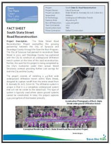S. State St. Recon Fact Sheet