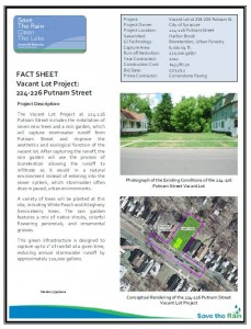 Vacant Lot - Putnam St Fact Sheet (PDF)