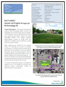 Vacant Lot - W Onondaga St Fact Sheet (PDF)