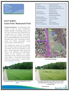 Wadsworth Park Fact Sheet (PDF)