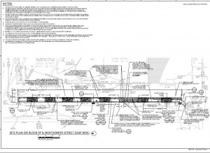 Downtown Streetscapes 200 Montgomery East Project Plans (PDF)
