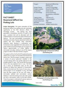 Zoo Parking Lot Fact Sheet