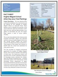 Arbor Day 2012 Tree Planting Fact Sheet