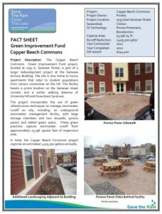 Copper Beech Commons Fact Sheet (PDF)