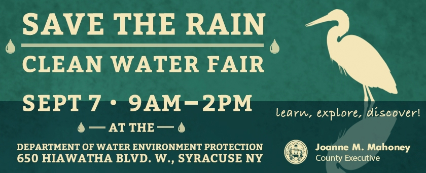 Save the Rain Clean Water Fair Ad