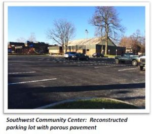 Southwest Community Center - Parking Lot