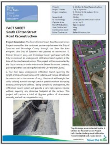 S Clinton Street Road Recon Fact Sheet (PDF)