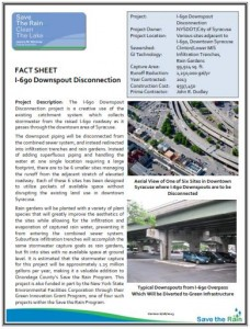 I-690 Downspout Disconnection Fact Sheet (PDF)