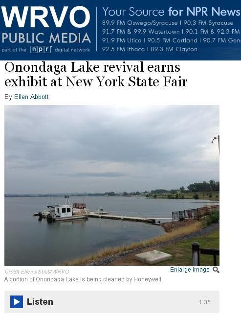 WRVO Onondaga Lake NYS Fair (link)