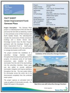 GIF - Genesee Plaza fact sheet