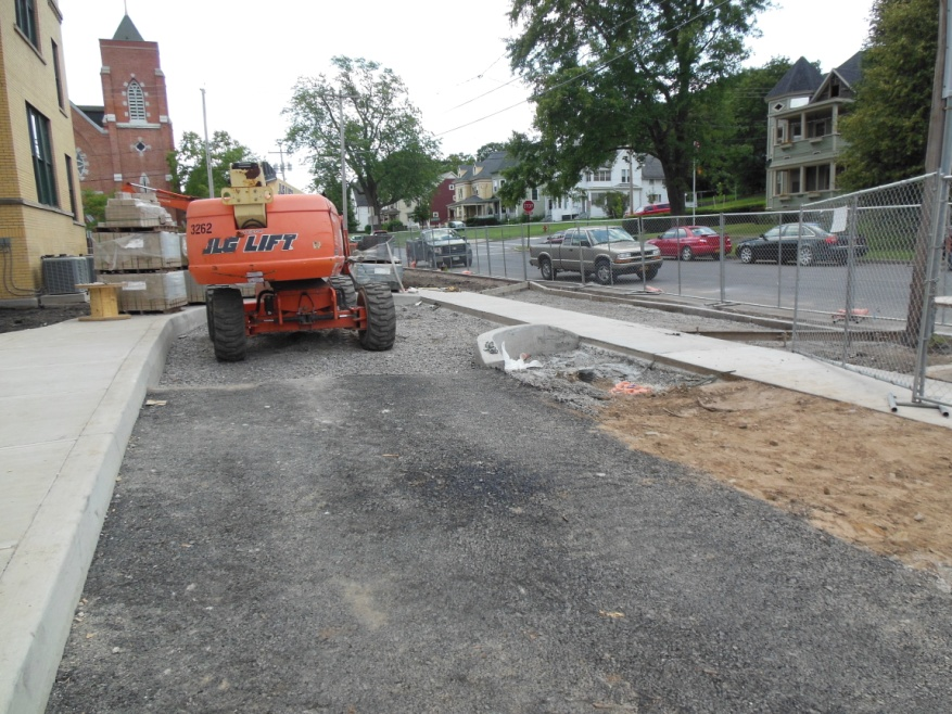GIF - St Patricks Apts - Porous Pavement Construction