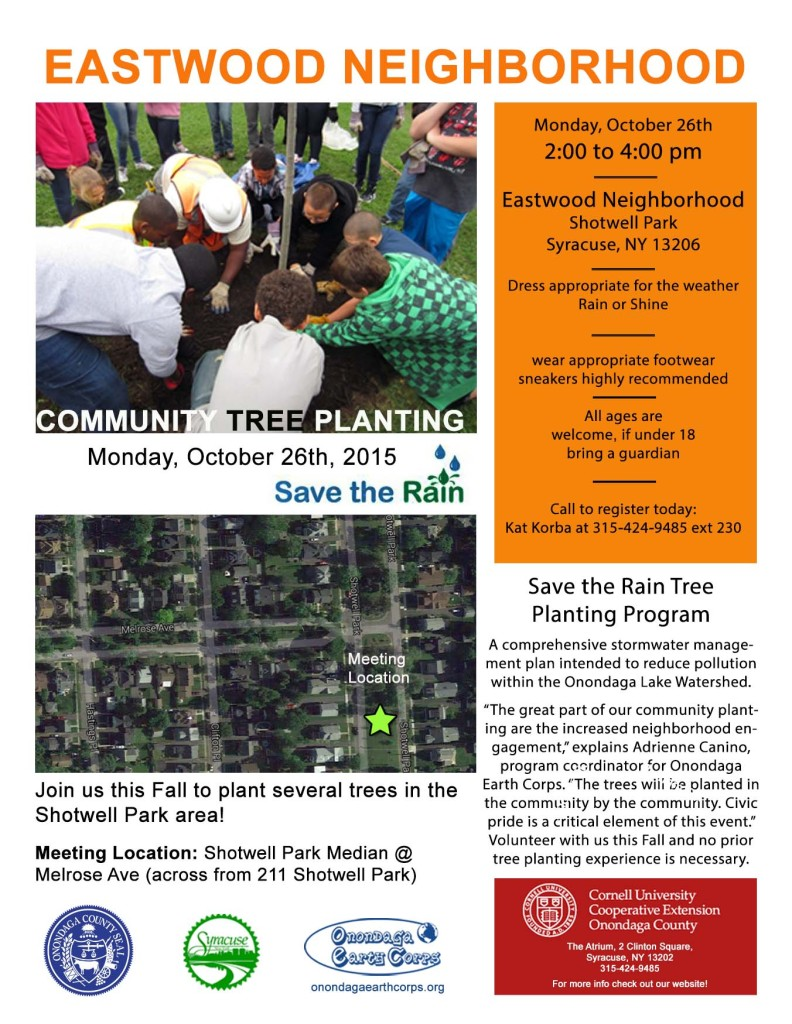 Eastwood tree planting flyer 2015
