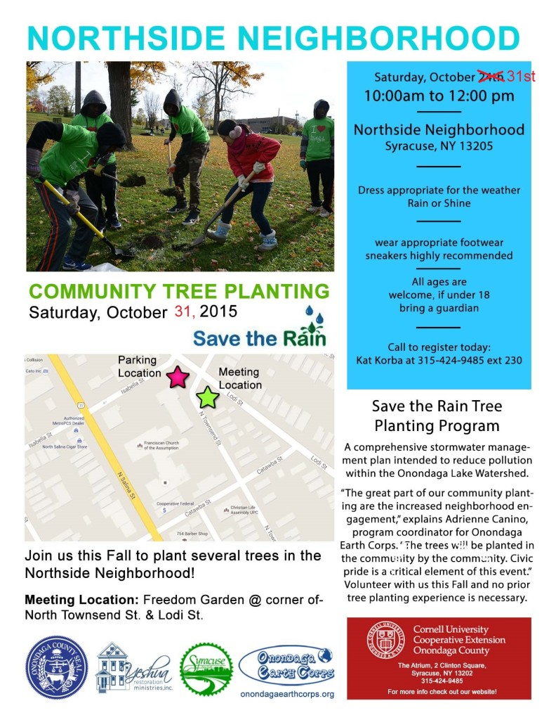 Northside Tree Planting Flyer REVISED