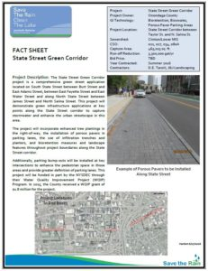 State Street Green Corridor Fact Sheet