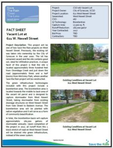 621 Newell St Fact Sheet