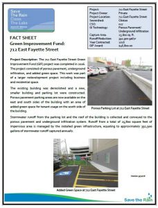 712 East Fayette Street Fact Sheet