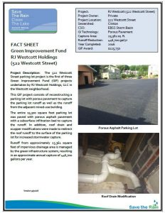 RJ Westcott Holdings Fact Sheet